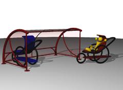 ARTOTEC Väderskydd för barnvagnar BABYDOLINE