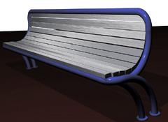 Parkbänk DIRECT-ERGONOMIC