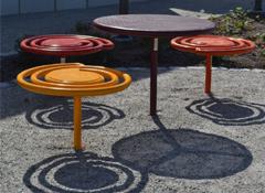 Sitt bänk/bord PALL-ETT