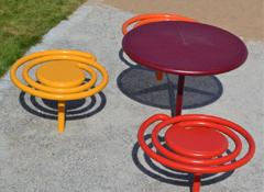 ARTOTEC Picknickbord PICNICULYS & Sittbänk PALL-ETT
