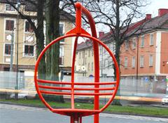 ARTOTEC Roterande fåtölj ZICKI i Mariaplan Torg i Kungsladugård i GÖTEBORG