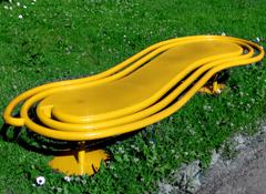 Parkbänk ZIG-ZAG