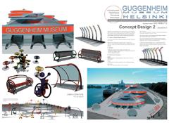 Compétition pour la création du nouveau MUSÉE de GUGGENHEIM à Helsinki - 2014