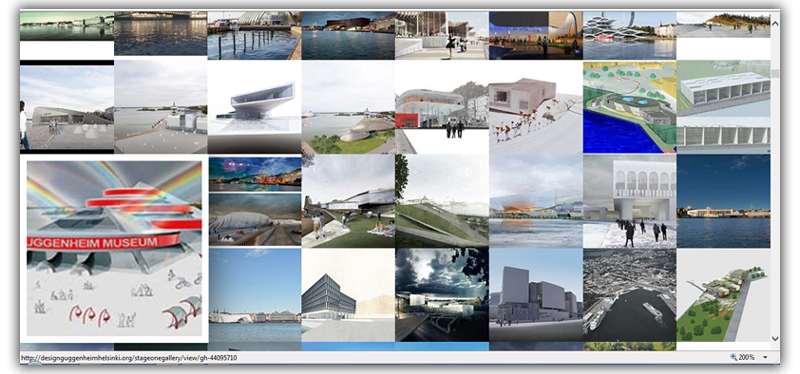 GALLERY GUGGENHEIM MUSEUM HELSINKI Competition - 2014