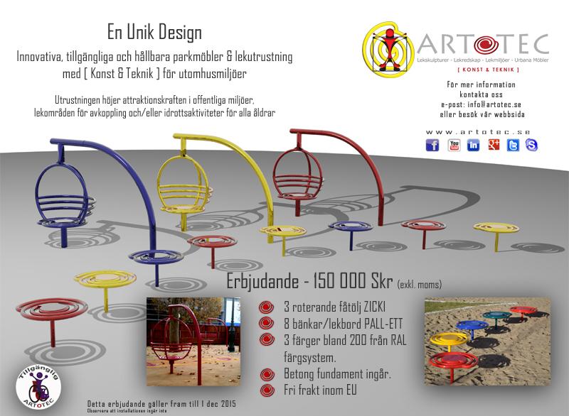 ARTOTEC Erbjudande - 150 000 Skr (exkl. moms)