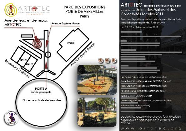 Artotec ab salon des maires 2011 - Salon des maires et des collectivites locales ...